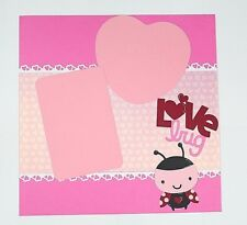 Baby Love Kids 12x12 Scrapbook Page Scrapbooking album Creative PreMade