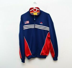 Adidas FIFA Womens World Cup Medium Pullover Jacket 1999 Vintage 1/4 Zip Unisex