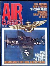 Air Classics Magazine April 1972 Hot-Rod A4D Skyhawk EX No ML 120716jhe