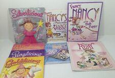 Pinkalicious Purplicious Goldilicious Silverlicious Fancy Nancy 8 Book Lot
