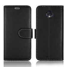 FOR MOTOROLA MOTO G7 PLAY LEATHER FLIP BOOK POUCH MAGNETIC PROTECT CASE COVER
