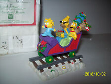 All Aboard for the holidays From The Simpson Christmas Express train  box & coa