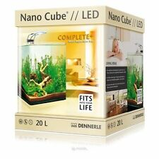 Dennerle NanoCube Complete Plus 20L Nano Aquarium + Filter & LED Fish Tank