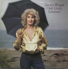 TAMMY WYNETTE - ONLY LONELY SOMETIMES - LP