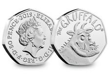 2019 UK THE GRUFFALO CERTIFIED BU 50p- OFFICIAL UK ISSUE