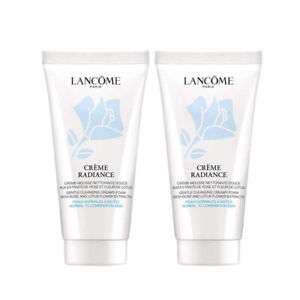 2 x Lancome CREME RADIANCE Gentle Clarifying Cleansing Creamy-Foam Cleanser 50ML