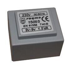 Transformador encapsulado 7.5 V + 7.5 V Transformadores Alimentación