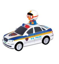Korean Tv Anime Little Penguin Pororo Push And Go Police Car Toy Cute Design