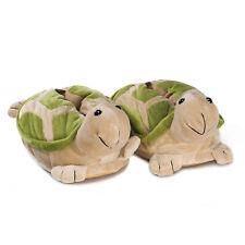 Novelty Slippers turtle green durable rubber sole children men women mules