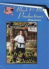 Casey Marks Advanced Karate Bo Staff Drills for Speed Power Control Timing Dvd