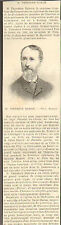 51 ROSNAY THEODORE DUBOIS PETIT ARTICLE PRESSE 1896