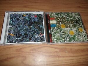 CD STONE ROSES LOT OF 2