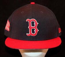 MEN'S Boston Red Sox New Era 59Fifty MLB Baseball Hat Cap Navy Blue Red 2013 NEW