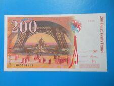 200 francs Eiffel 1999 F75/5 NEUF