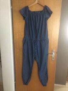 Jeans • Overall • Blau • Größe L (42)