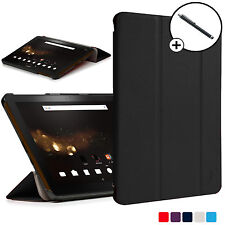 Forefront Cases® Black Folding Smart Case Cover Acer Iconia Tab 10 A3-A40 Stylus