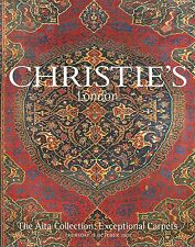 CHRISTIE'S EXCEPTIONAL RUGS CARPETS Aita Collection Auction Catalog 2001