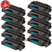 10pk Compatible CE505X 05X HY Toner Cartridges for LaserJet P2055 P2055dn P2055x