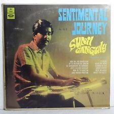 Sunil Ganguly Sentimental Journey Film Tunes Instrumental LP Record Bollywood EX