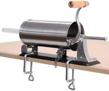 Sausage Stuffer Press Maker Meat Filler Machine Stainless Steel Commercial 3.6L