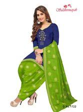 Unstitched Salwar Kameez Punjabi Suit Indian Synthethic Pakistani Ethnic