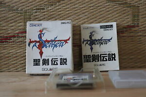 Seiken Densetsu Final Fantasy Gaiden w/box manual Nintendo Gameboy GB VG!