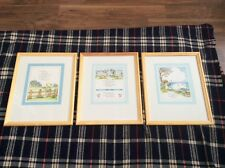 NURSERY FRAMED PRINTS BY JOAN WALSH ANGLUND 1969 NEW CONDITION EXCELLENT