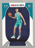 Z5) 2020-21 Panini Hoops LaMelo Ball RC Rookie Card Charlotte Hornets