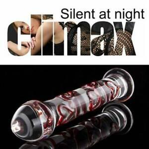 Big Glass Dildo For Women Masturbation Vaginal G-spot Stimulator Adult Sex Toys