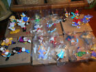6 Sets of Vintage Disney Miniatures-Some Sealed/None Ever Used Kellogg's +Boxes