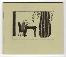 The Deadly Blotter. Thoughtful Alphabet XVII by Edward Gorey Signed Limited- Hig