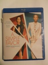 A Simple Favor (Blu-Ray, 2018)