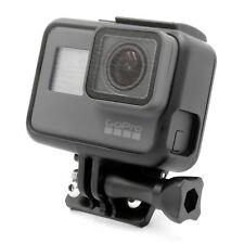 ALLUMINIO Casco Fisso Curvo MOUNT ADAPTER PER GoPro 3 3+ 4 5 6 Action Cam