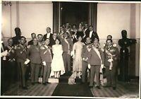 FOTO DEL 1930ca - MILITARI DELLA REGIO ESERCITO IN SERATA ELEGANTE - TORINO -