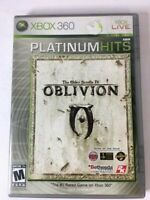 The Elder Scrolls IV: Oblivion Platinum Hits (Microsoft Xbox 360, 2008)CIB w/Map
