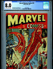 Marvel Mystery Comics # 70 CGC 8.0 Timely Comics 1946  Human Torch Amricons B19