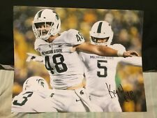 Kenny Willekes Autographed Michigan State 11x14 Photo Coa Spartans