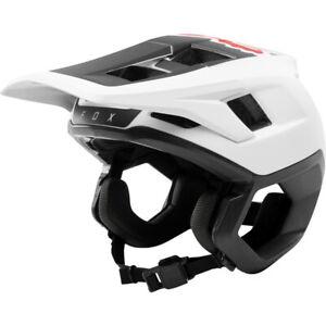 Fox Dropframe Helmet - White/Black