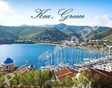 Greece - Crete - KEA - Travel Souvenir Flexible Fridge Magnet