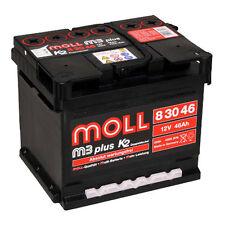 Moll m3 PLUS k2 83050 (83046) 50ah batteria di avviamento Batteria auto pronto per l'uso * *