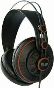 HD681 Superlux Professional Monitor Headphone Semi-Open type from Japan New