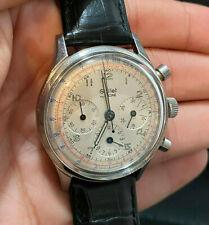 Gallet by Racine Multichron 12HR Chronograph Excellent Condition Rare Vintage