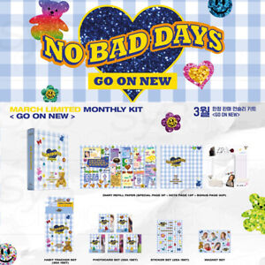ITZY Official Goods NO BAD DAYS March LIMITED MONTHLY KIT GO ON NEW