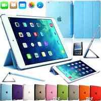 Schutz Hülle für iPad Mini 1 2 3 Case Smart Cover Slim PU-Leder Tasche Etui Blau