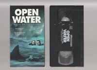 OPEN WATER Horror VHS LIONSGATE video Movie Gore Cult Slasher Sex SHARK
