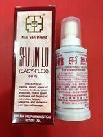x3 Nan San Brand Shu Jin Lu (Easy Flex) 60ml ,Trauma, Sprain, Agony of Muscles