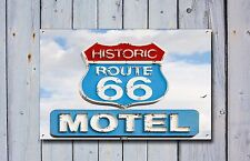 Route 66 Metal Sign, USA Highway, American, Cars, Vintage, Sign, Advertising,934