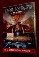 Iron Maiden - EN VIVO! Live 2 Disc Tour DVD + Behind The Beast Documentary