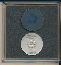 1970 Japan World Exposition Osaka Commem Silver Medal .925 Fine-Shipping Free!