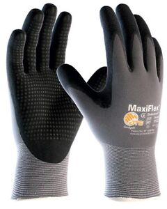 MaxiFlex Endurance Arbeitshandschuhe Montagehandschuhe ATG Nitril Nylon 12 Paar